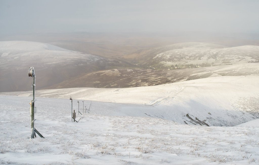Snow after Storm Desmond