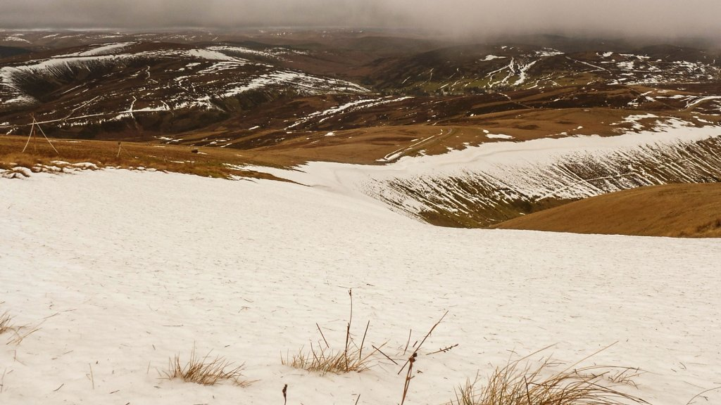Winter 2014/2015 - a mile long drift on Lowther Hill