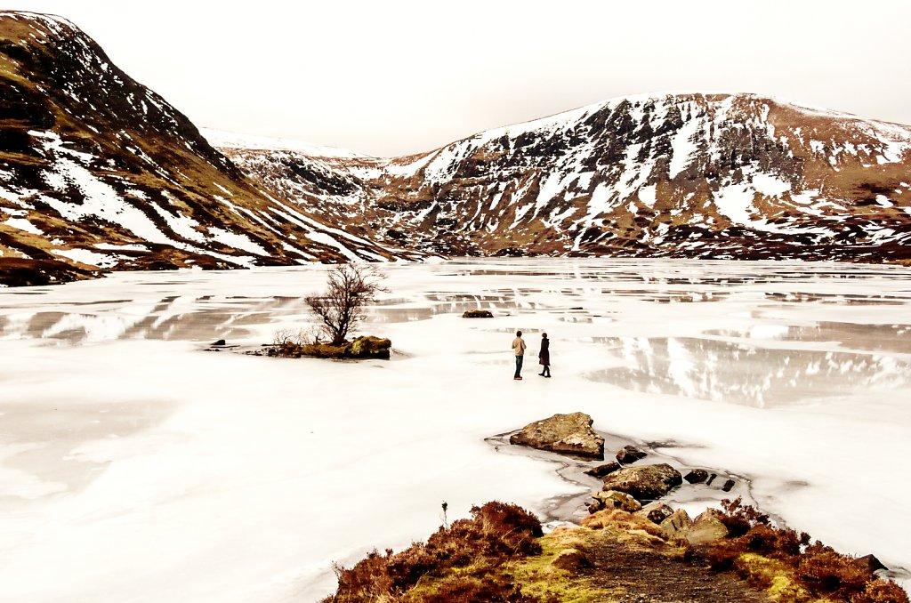 Frozen loch