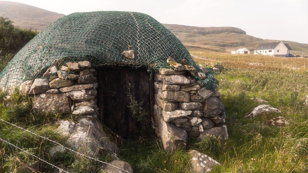 Borgh stone shed