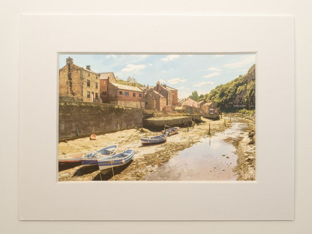 Staithes harbour, North Yorks