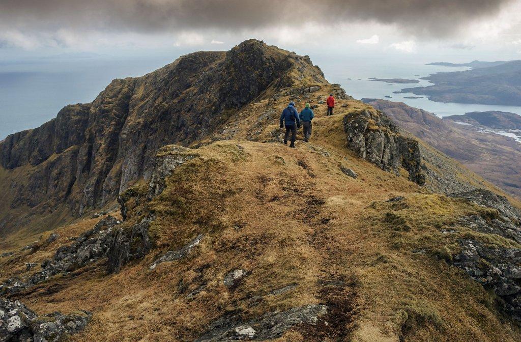 Ridge walk on Beinn Mhor