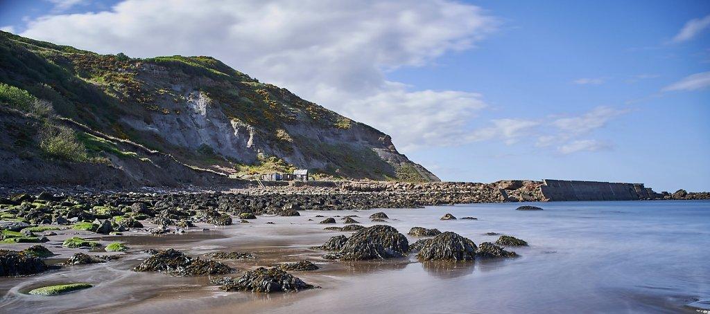 Sea shore at Port Mulgrave