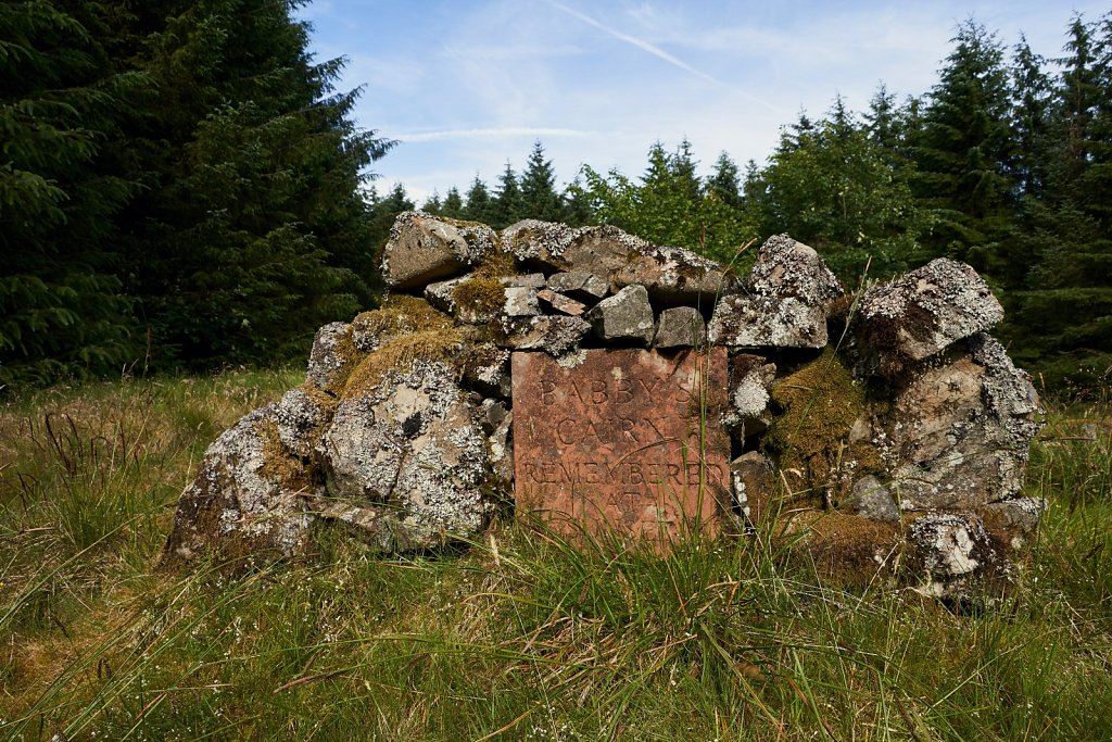 Hunterheck Hill summit cairn