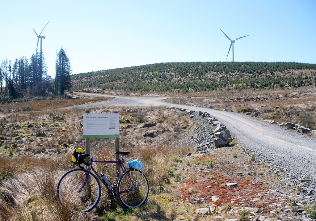 harestanes wind farm