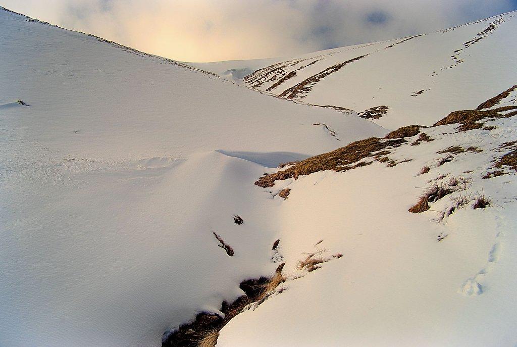 Gully snow