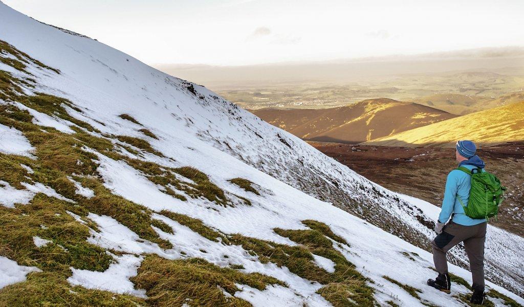 East facing corrie on Culter Fell