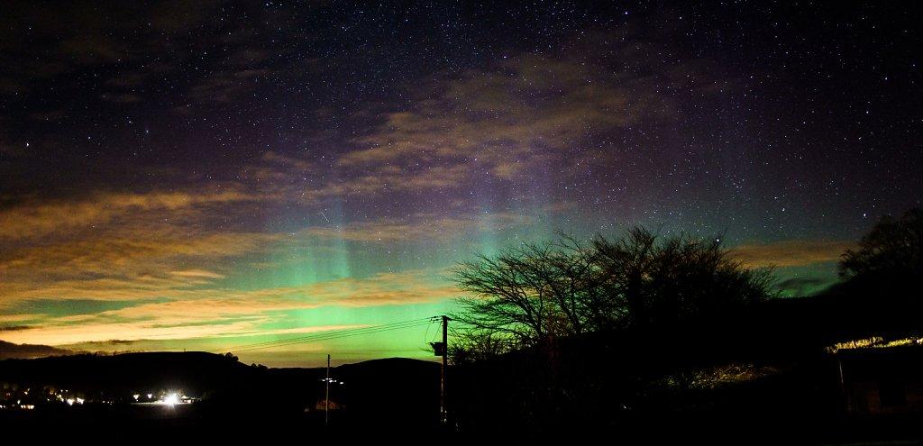 Aurora over Moffat
