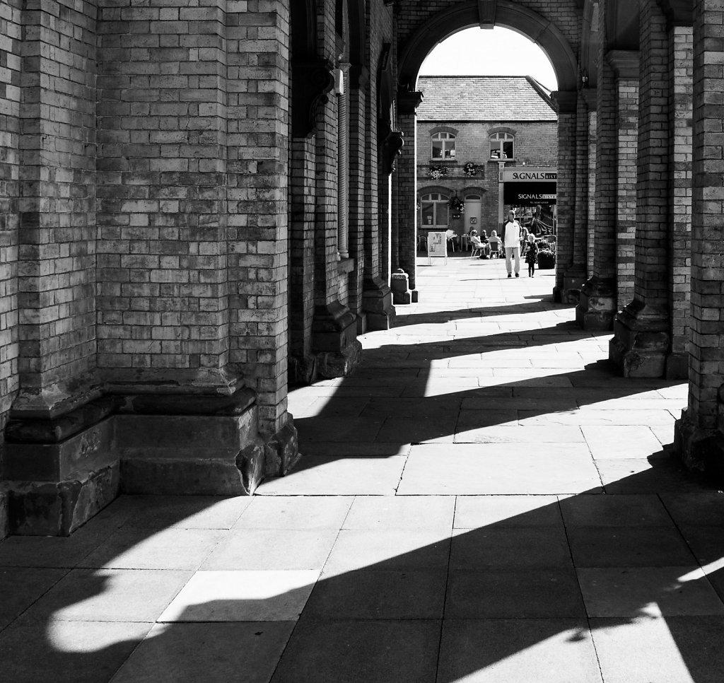 Saltburn station arches