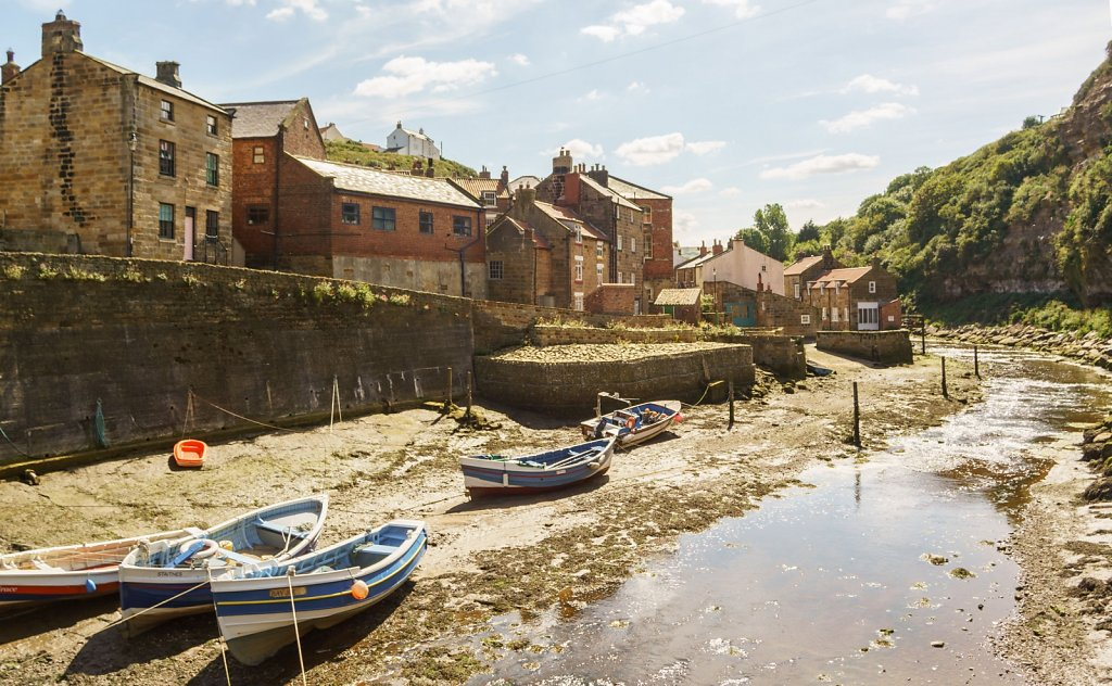 Staithes from its bridge