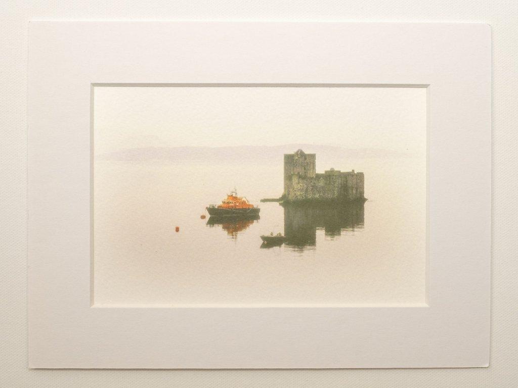 Castle at Castlebay, Isle of Barra