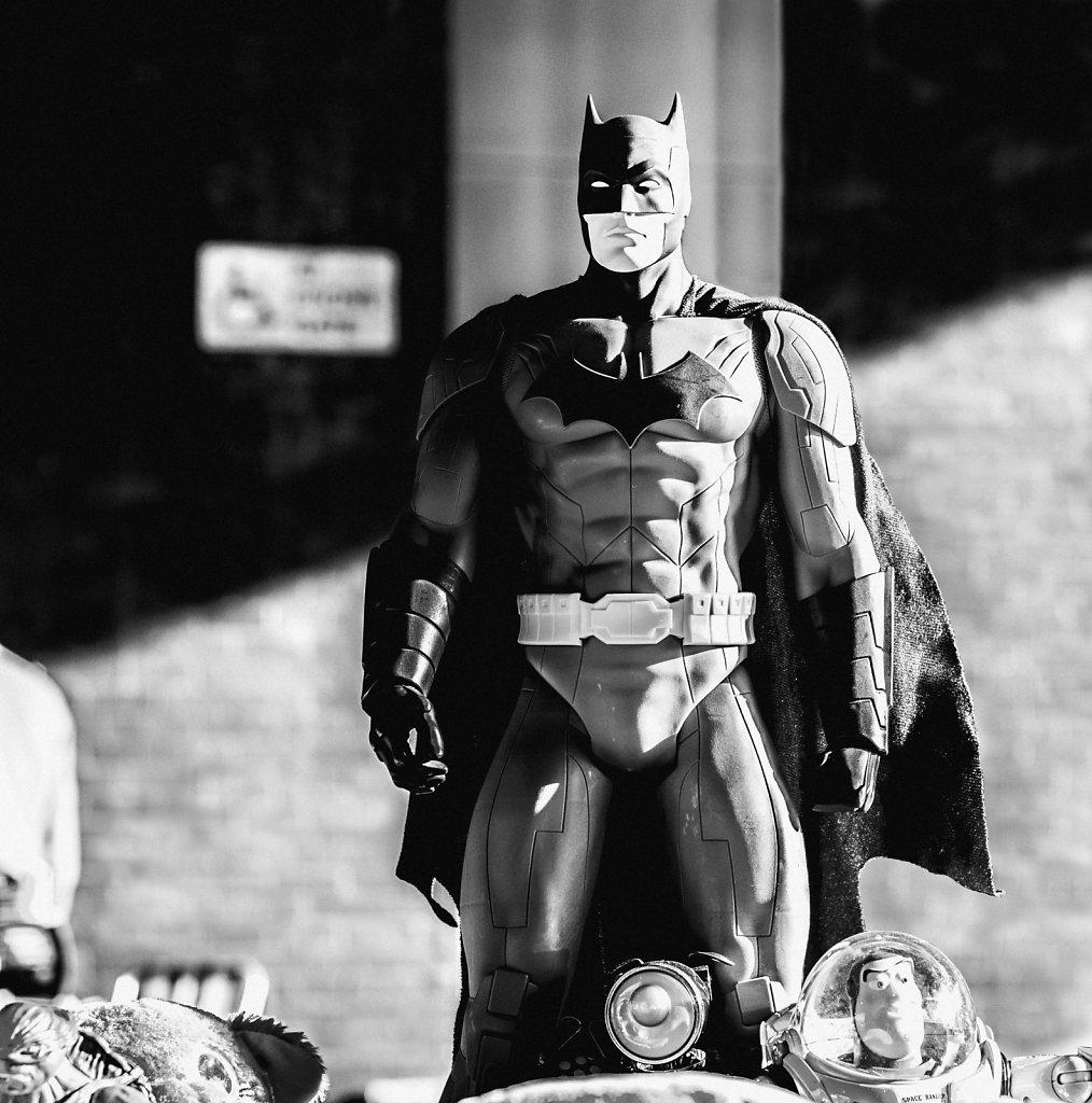 Batman and Buzz Lightyear