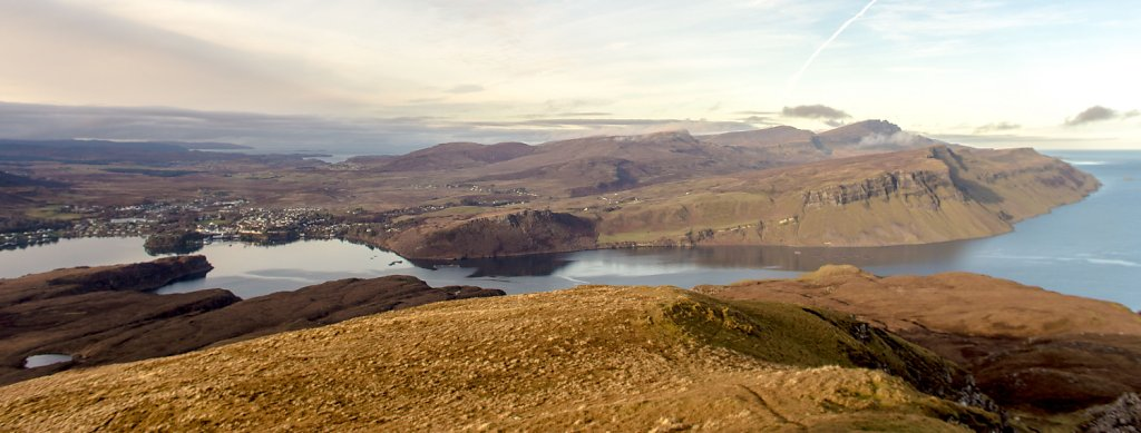 Portree from Ben Tianavaig