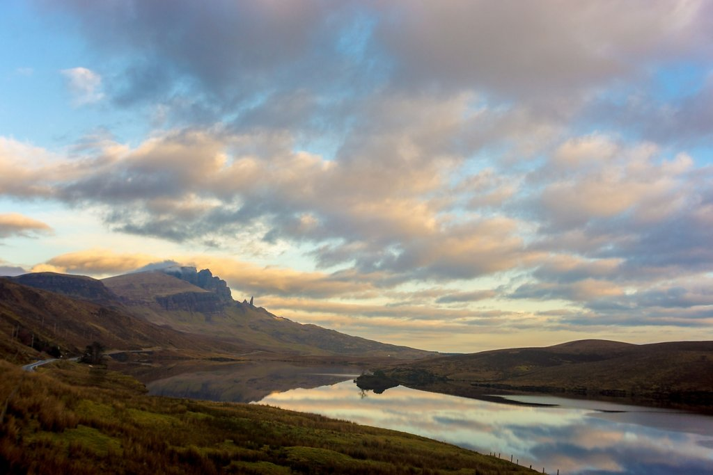 Loch Leathan and the Quirang