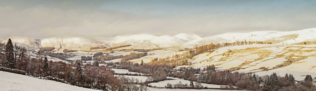 November snowfall in Upper Annandale