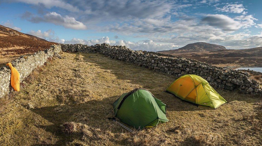 Camp at Huisinis