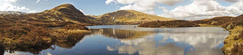 Loch Skeen seen from its southwest corner