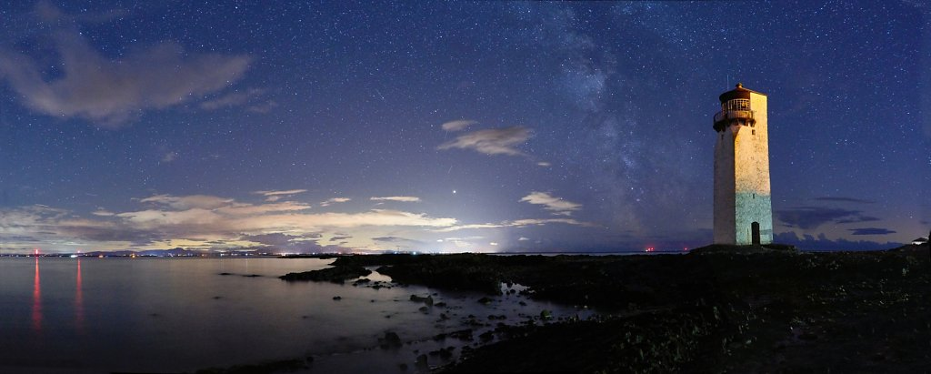 Panorama across the Solway from Southerness