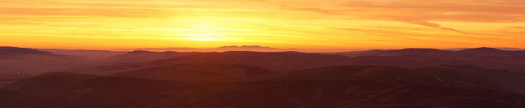 A Lowther Hill sunset