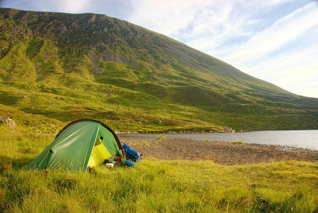Dawn at Loch Skeen
