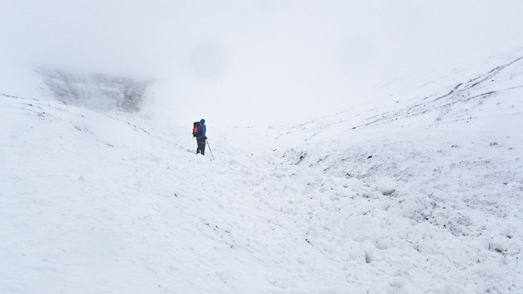 Southern Uplands avalanche