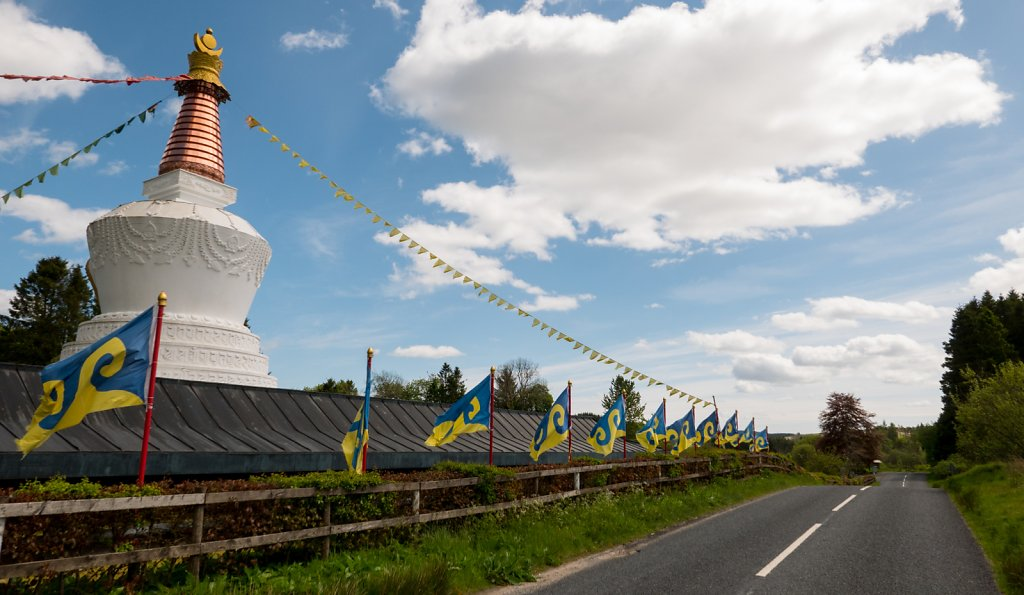 Samye Ling Tibetan monastery at Eskdalemuir